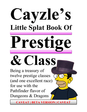 cover image of Cayzle's Little Splat Book of Prestige & Class